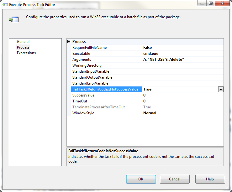 SQL Server SELECT: SSIS: Access Network Resources on a Server Not on