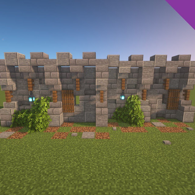 Minecraft Wall Gate