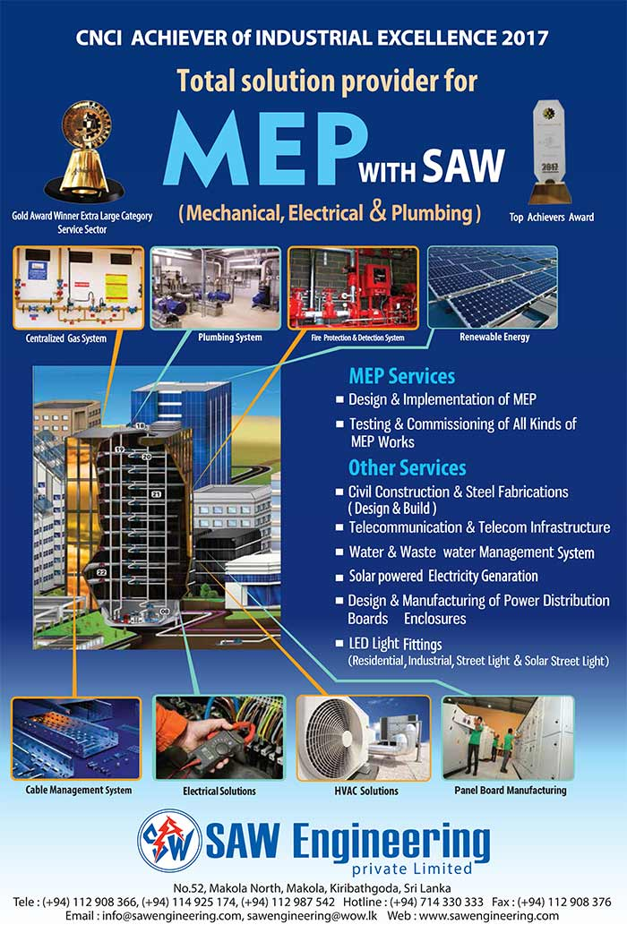 SAW Engineering (Pvt) Ltd | Total Solution Provider for MEP.
