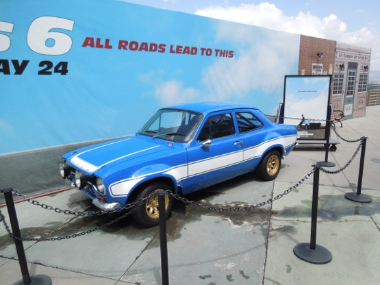 Fast Furious 6 1970 Ford Escort RS1600 car