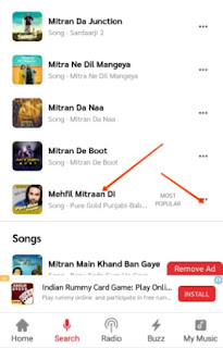 gaana app download kare