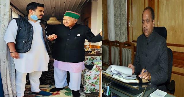 कोरोना को परास्त कर वापस लौटे पूर्व सीएम वीरभद्र: CM जयराम ने भेजा था हेलिकॉप्टर