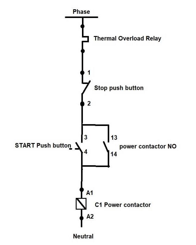 tc contactor wiring diagram
