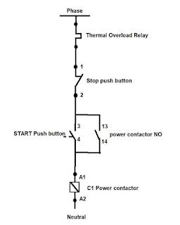 dol control circuit diagram