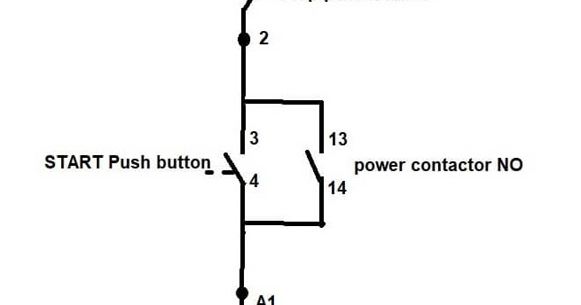 Diagram Of Direct On Line Starter Typical Circuit Diagram