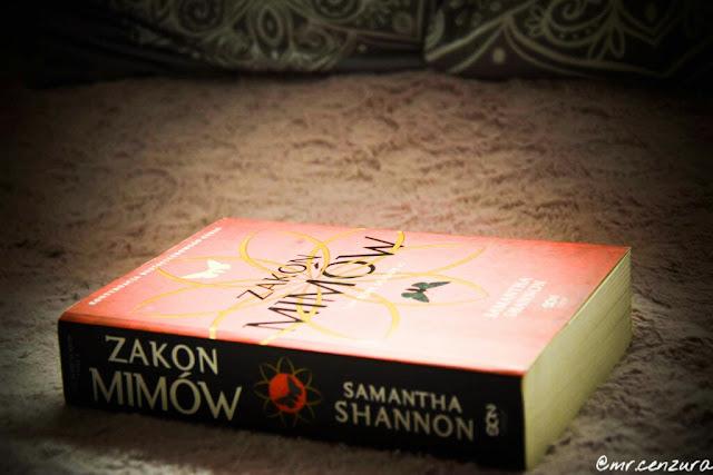 """Receznja ,,Zakon mimów"""" Samantha Shannon"""