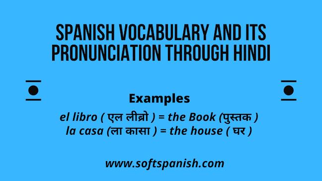 Learn spanish in india through Hindi, learn spanish in india, learn spanish through hindi.