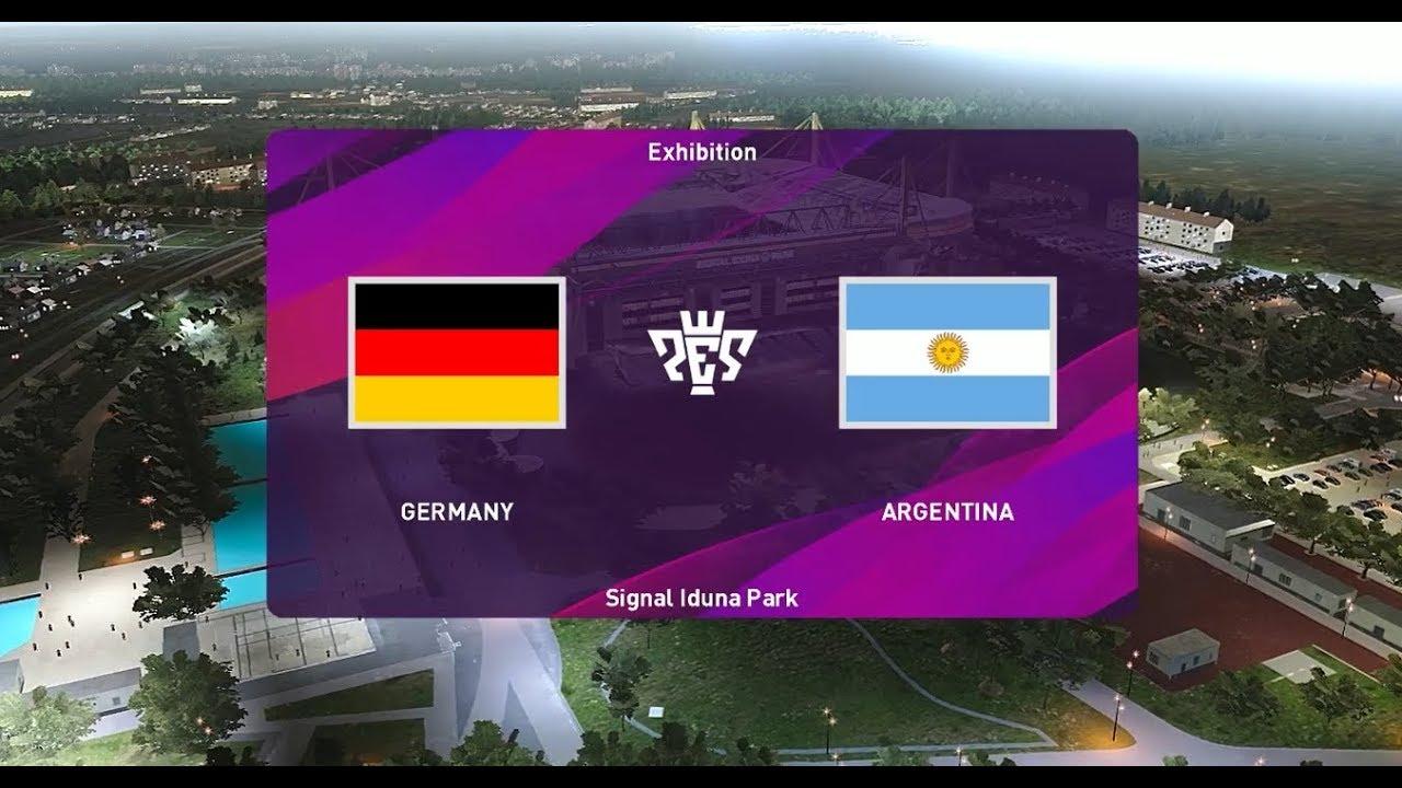 مشاهدة مباراة المانيا والارجنتين بث مباشر بتاريخ 09-10-2019 مباراة ودية