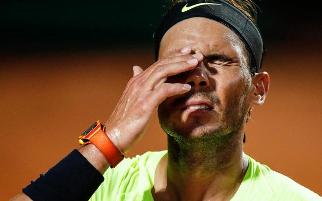 Nadal thất vọng trong pha bóng hỏng trước Diego Schwartzman