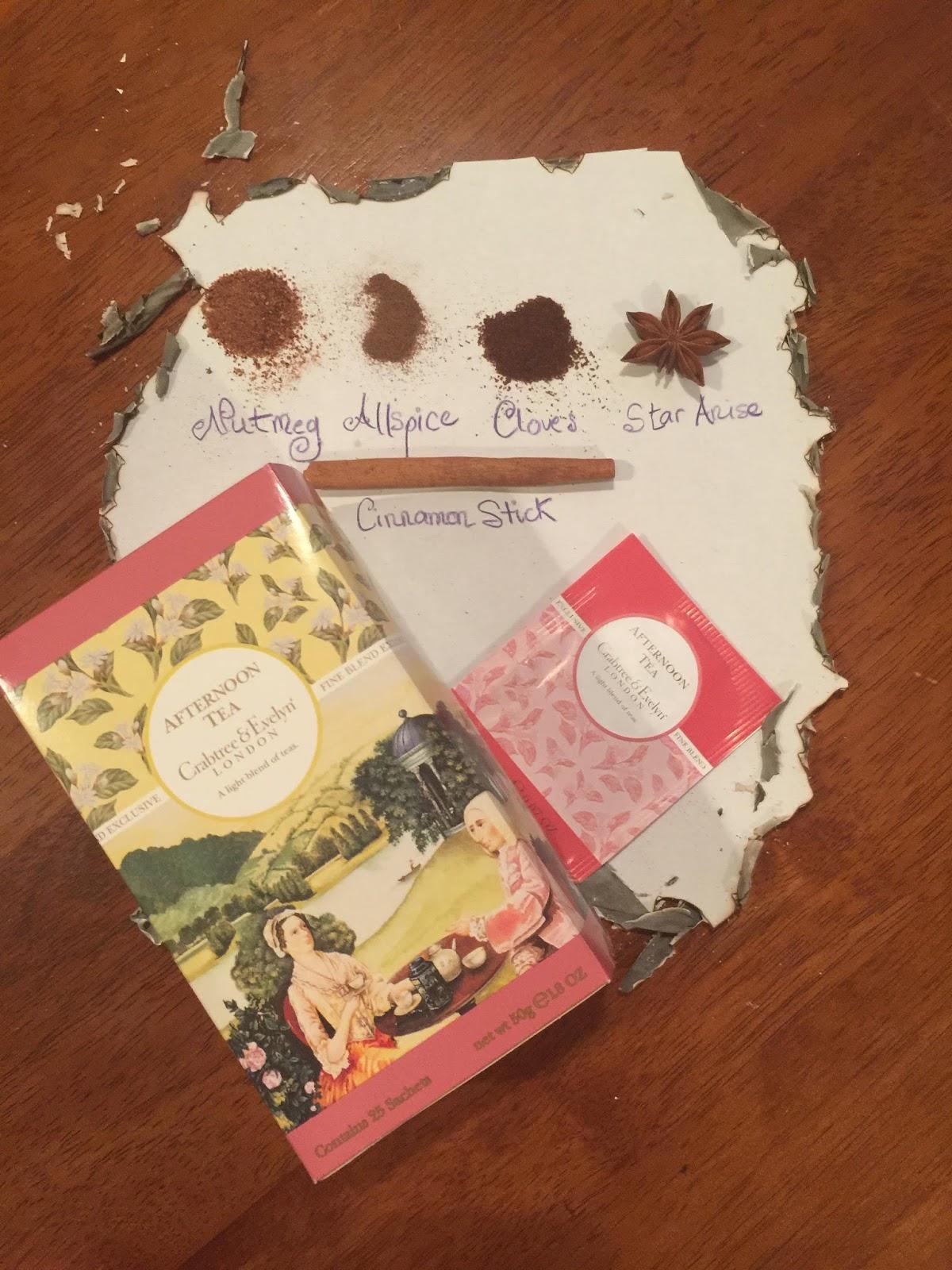 DEA LENIHAN'S BLOG: Witches Brew Tea While You Color