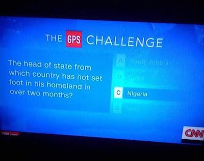 CNN Mocks Nigerians Over President Buhari's Absence + VIDEO