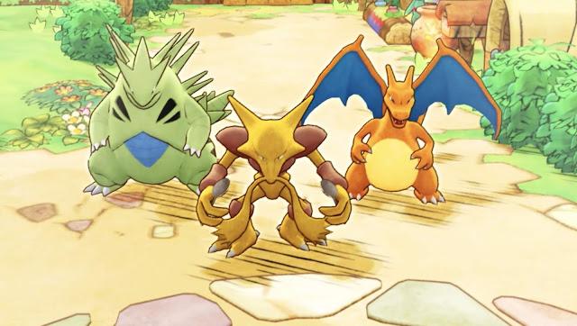 Pokémon Mystery Dungeon: Rescue Team DX (Switch) recebe dois novos trailers