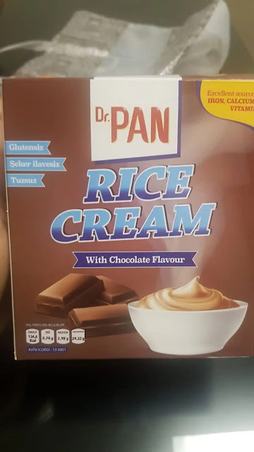 alternatif diyet kahvaltı, rice cream, dr pan