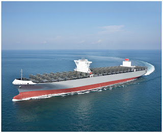 """K"" Line takes Delivery of 14000-TEU Containership ""MILANO BRIDGE"""