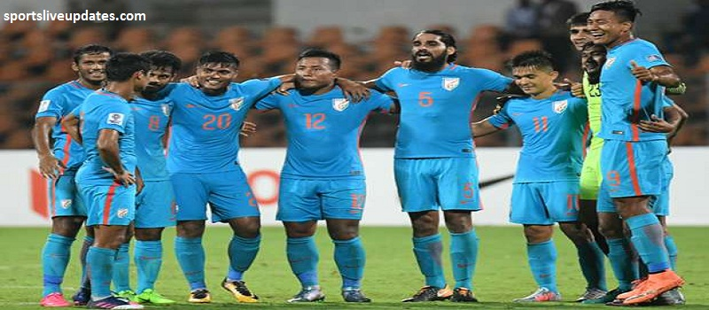 India vs Myanmar AFC Asia Cup 2019 Qualifier Match