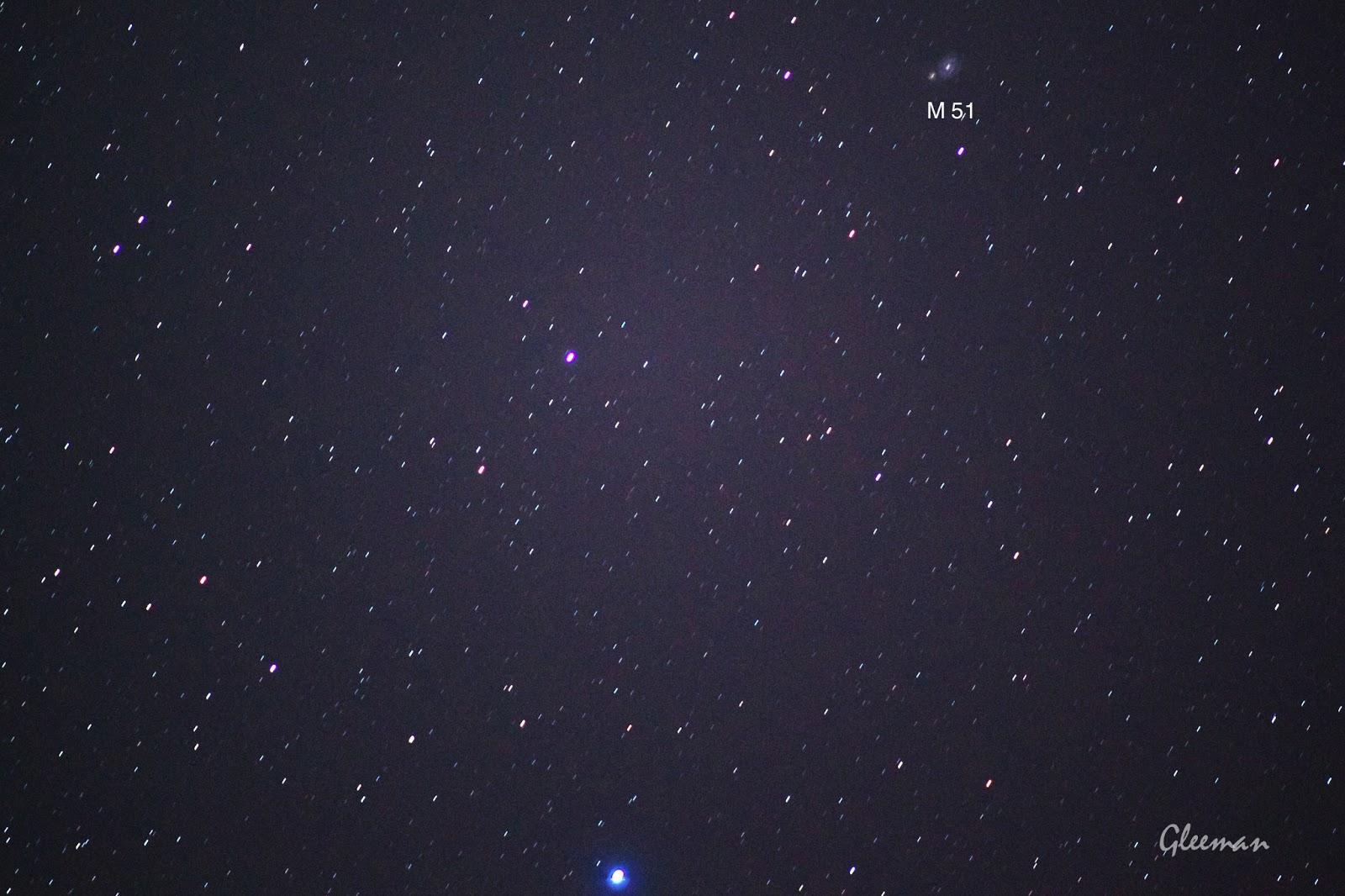 Whirlpool Galaxy (M51) 渦狀星系/ Pentax  K5 + Pentax O-GPS1 + DA*200