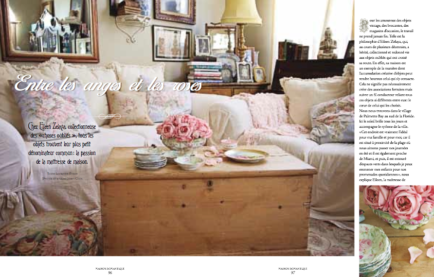 magazine photo shabby chic