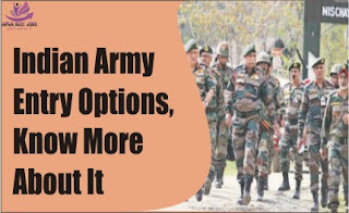 Indian Army Entry Options,Know More About It