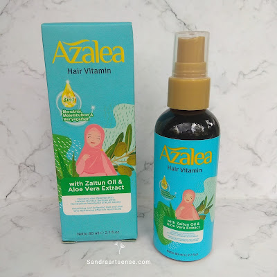 Review Azalea Hair Vitamin