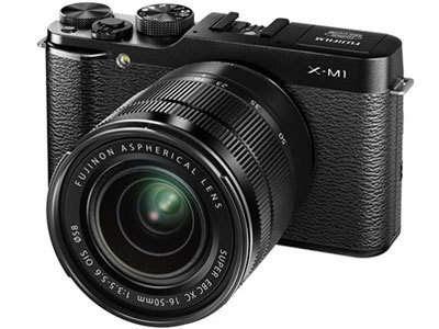Fujifilm X-M1ミラーレスデジタルカメラファームウェアのダウンロード