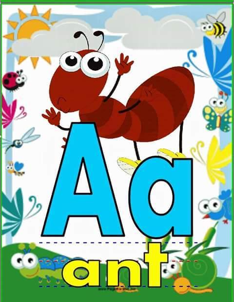 Teacher Fun Files: English Alphabet Flashcards A to Z