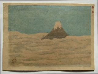 畦地梅太郎 富士山の木版画販売買取ぎゃらりーおおのです。愛知県名古屋市にある木版画専門店
