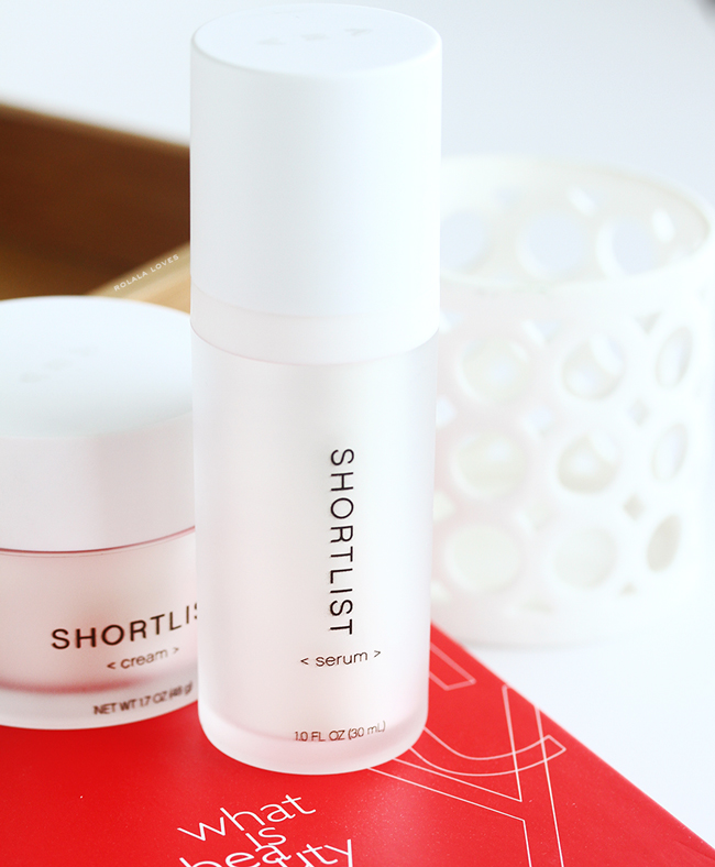 Shortlist Serum, Shortlist Beauty, Shortlist Skincare, Shortlist, Shortlist Review, Shortlist Beauty Review, Less Is More Beauty