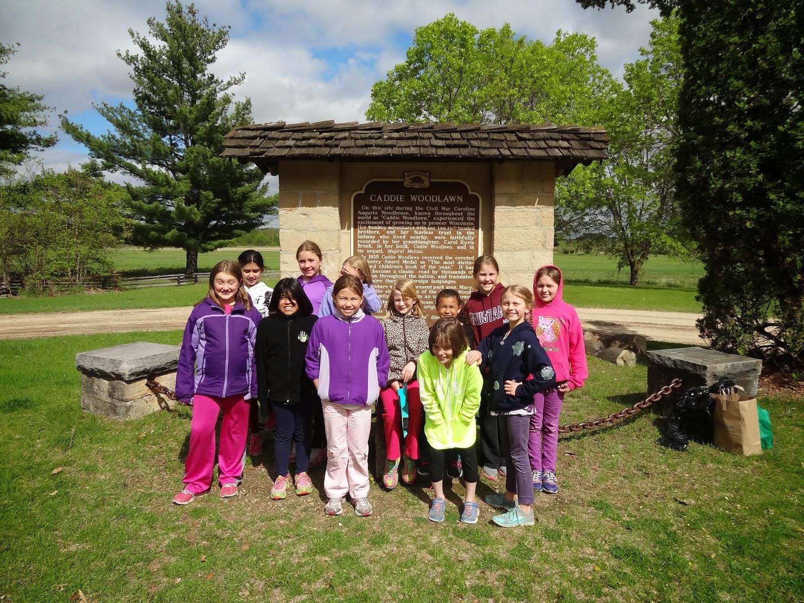 Troop 3150: Caddie Woodlawn or Woodhouse Clean up May 12th, 2015