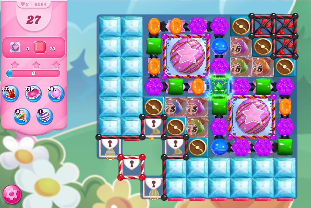 Candy Crush Saga level 8284