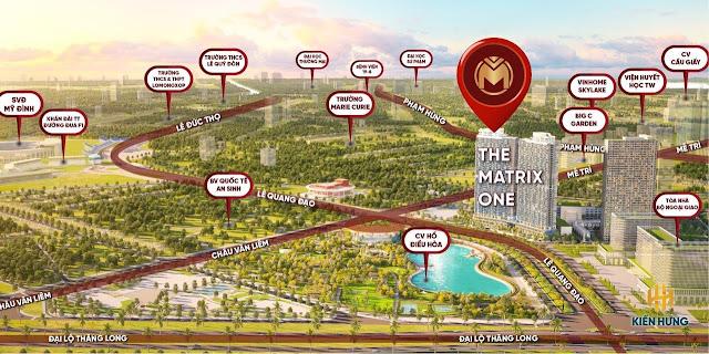 Mở bán dự án chung cư The Materix One Mễ Trì Hà Nội