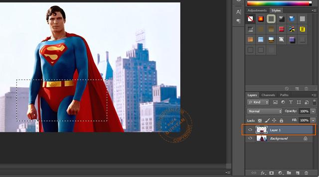 Membuat Efek Sensor pada Foto atau Gambar di Photoshop 2