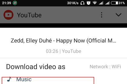 Cara Download Lagu Youtube Jadi Mp3 Tanpa Converter
