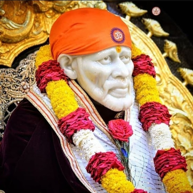 Sai Nath Sai baba in this images temple colorful 2020