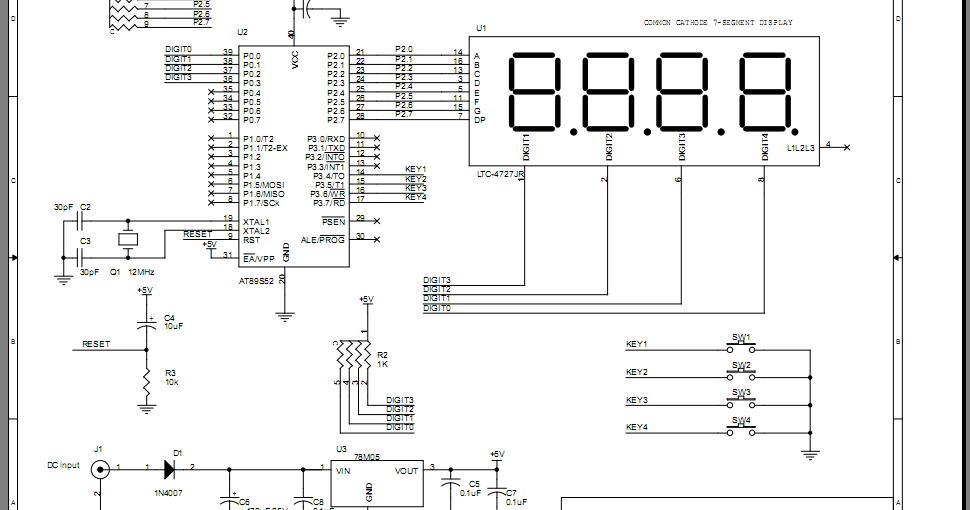 Microcontroller and Programming: Build the 8051 test board