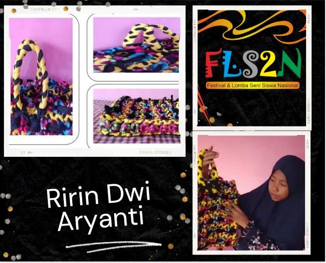Wow, Ririn Dwi Aryanti, Siswi Kelas 5 SD di Dompu, Bikin 'Tas Mewah' Hingga Juara Terbaik Tingkat Nasional