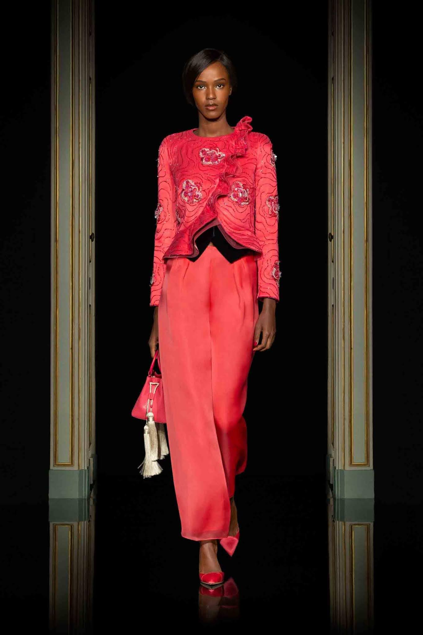 Armani's new collection based on the American Gigolo movie