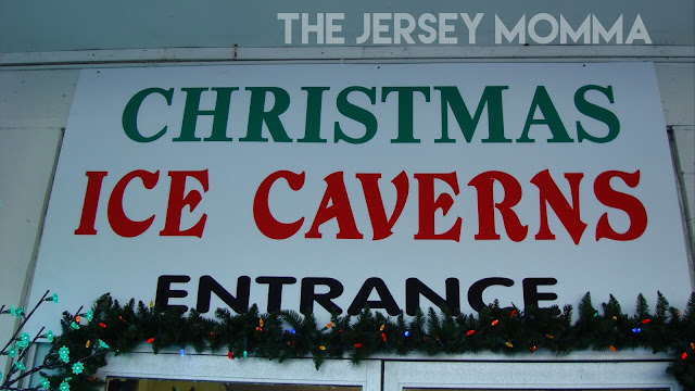 The Jersey Momma: Let's Visit The Christmas Ice Caverns Of