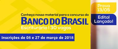 edital o concurso BB Banco do Brasil 2018