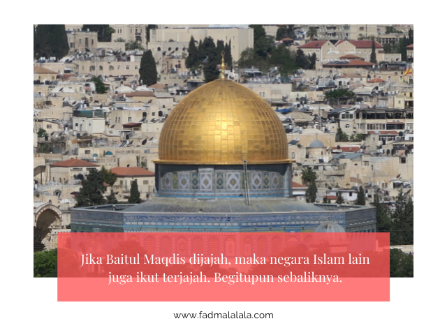 Keadaan Masjidil Aqsa