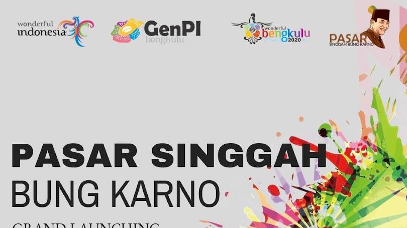 Destinasi Digital Pasar Singgah Bung Karno Bengkulu