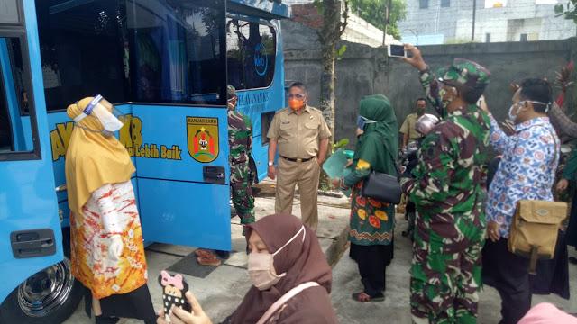 Harganas 2020, DP2KBP3A Banjarbaru Bakti Sosial Pelayanan KB Gratis