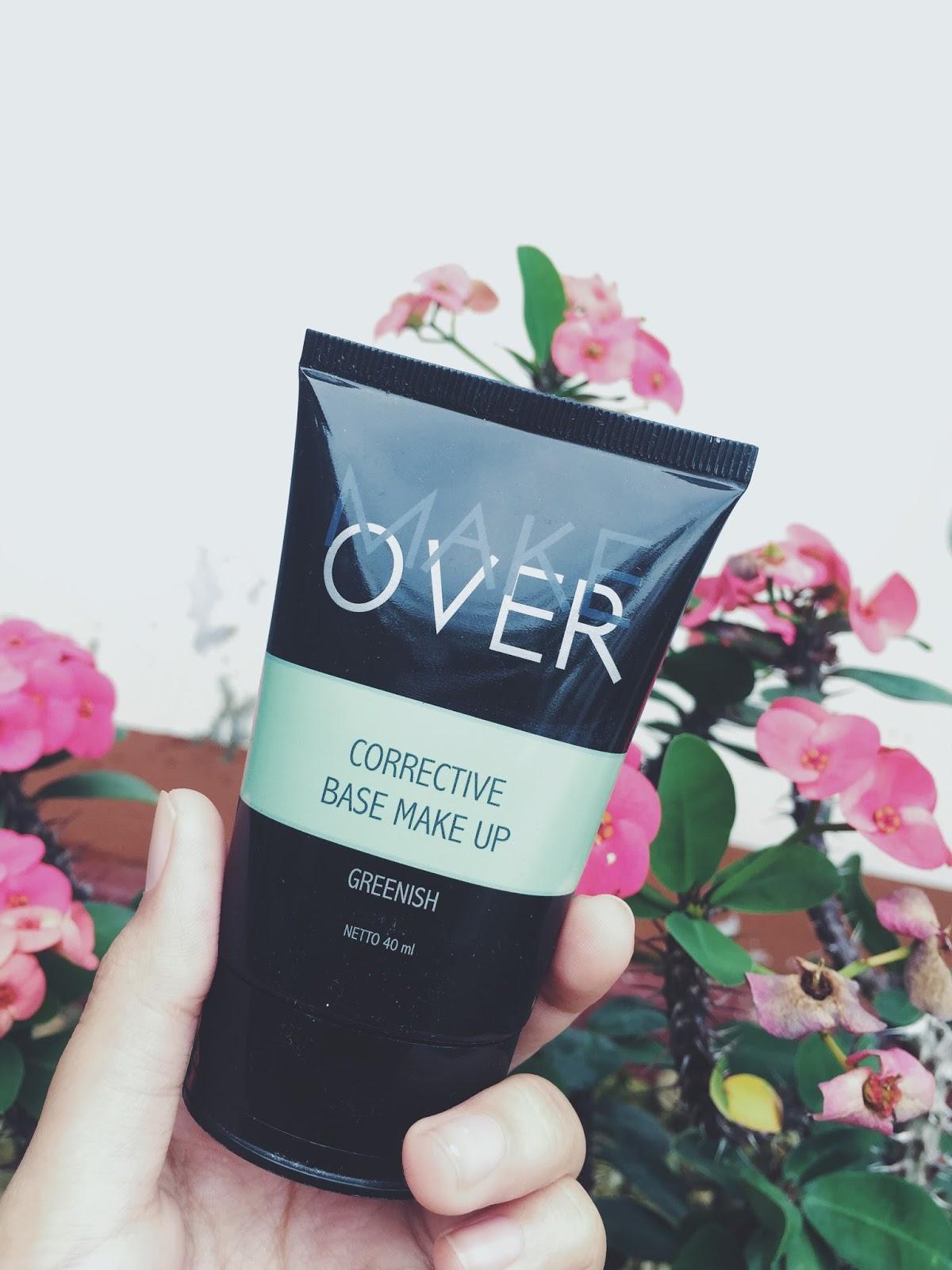Review Corrective Base Makeup Make Over Greenish