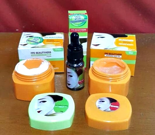 Paket FPD Magic Glossy Cream Bpom