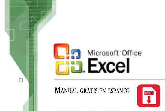 Manual de Excel 2003 gratis en español