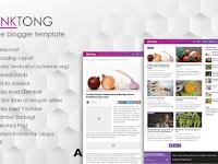 PinkTong Blogger Template Seo Friendly Keren Abis