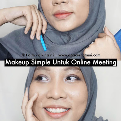 [TUTORIAL] Online Meeting Makeup Look | Work From Home Edition