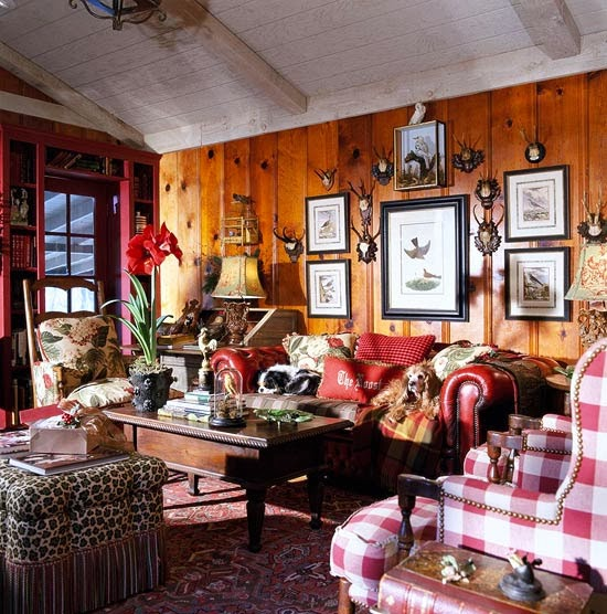 Charles Faudree S Country Cabin: Debbie Jacobs: Charles Faudree Leaves Behind An Interior