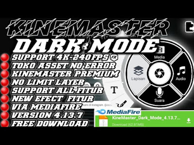 Download APK Kinemaster Dark Mode 2021