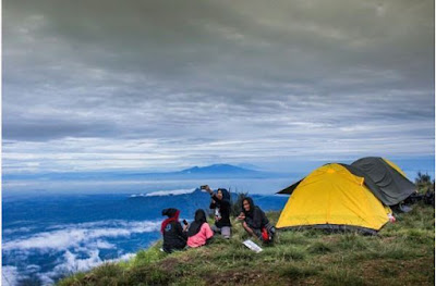 jalur pendakian gunung Butak via panderman
