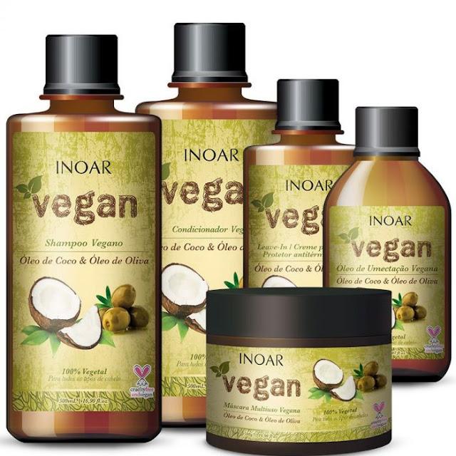 Testei: máscara de hidratação e leave-in da Inoar Vegan